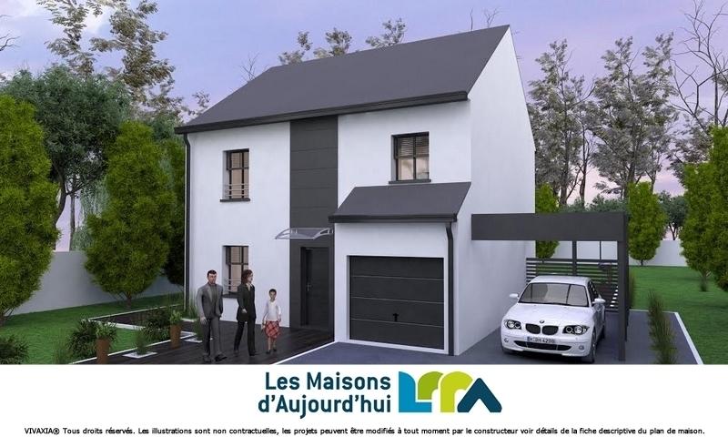 Maison neuve, 113 m² Terra…
