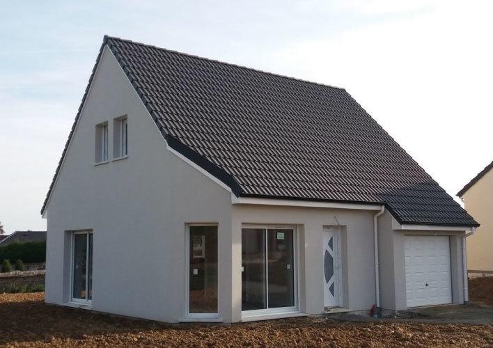 Maison neuve, 95 m² Sur l…