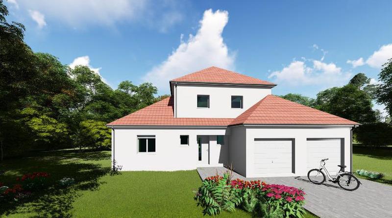 Maison neuve, 100 m² Sur u…
