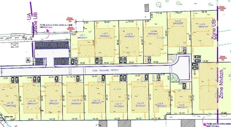 Terrain à bâtir, 456 m² Terra…