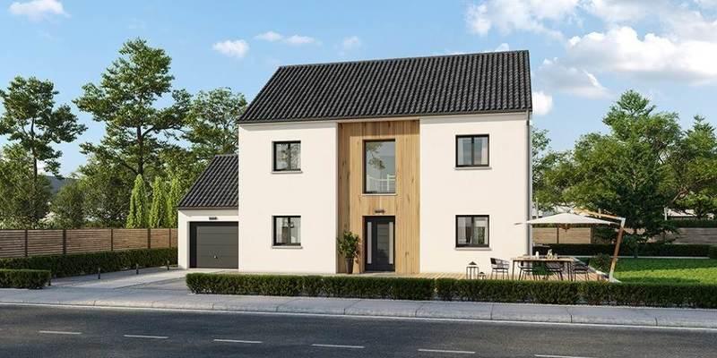 Maison neuve, 155 m² Immen…
