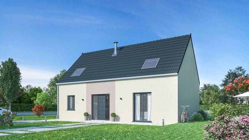Maison neuve, 126 m² BEAU …