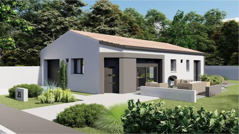 Maison neuve, 74 m² DECOU…