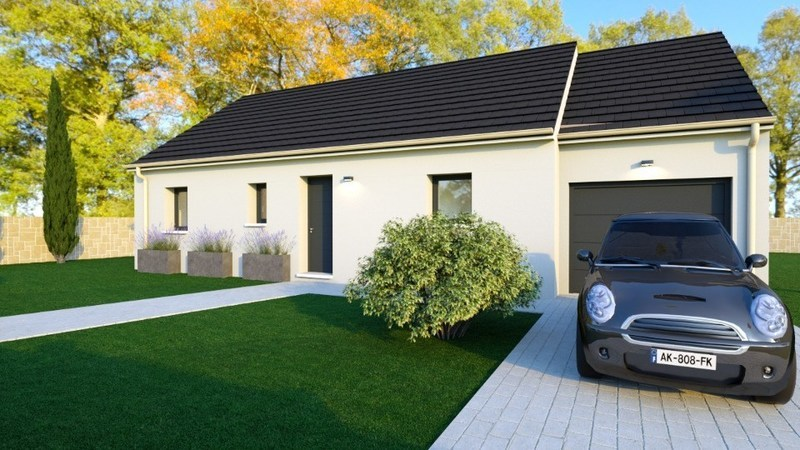 Maison neuve, 73 m² Les M…