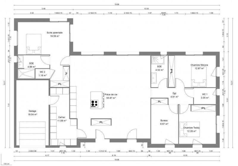 Maison neuve, 140 m² Mont-…