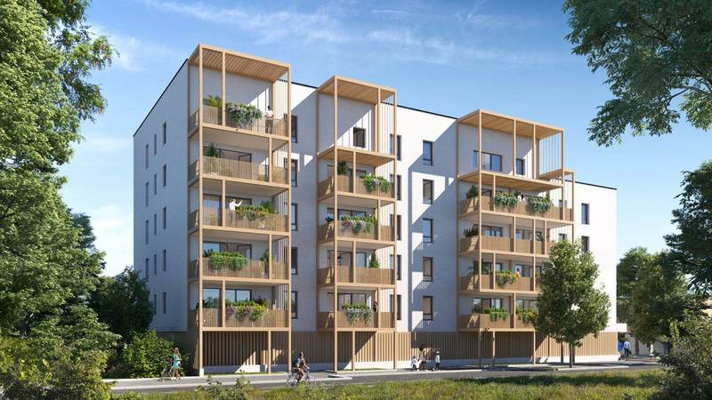 Appartement neuf, 72,7 m² Grand…