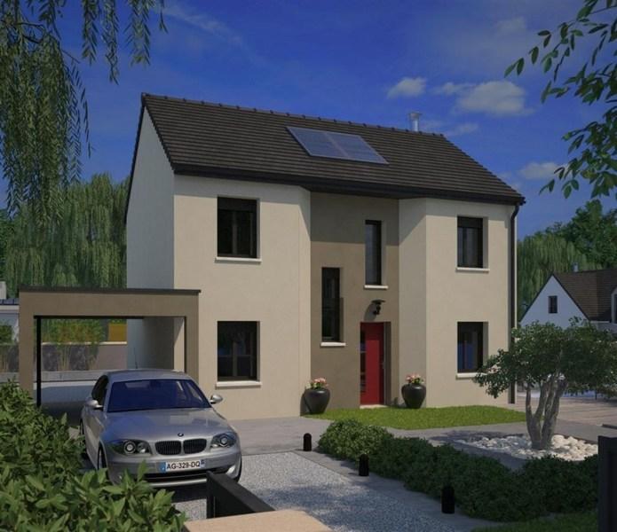 Maison neuve, 98 m² Les M…