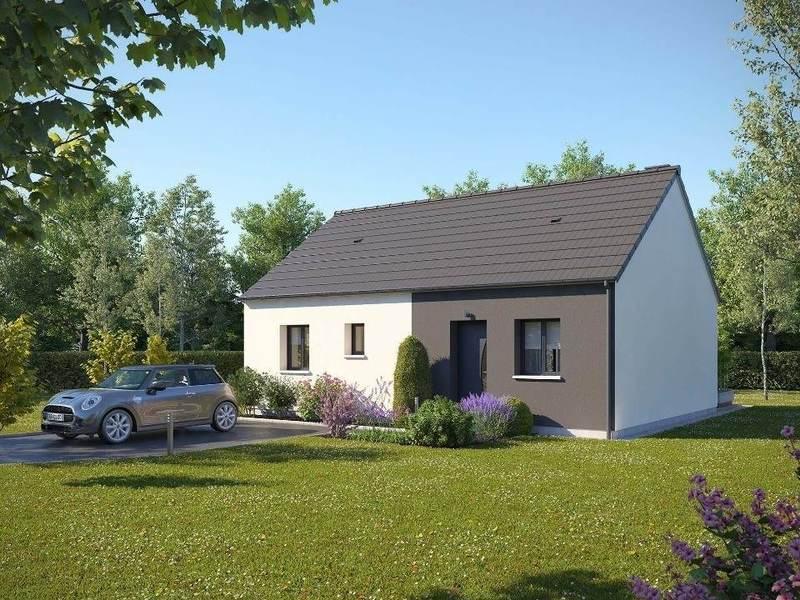 Maison neuve, 65 m² À ach…