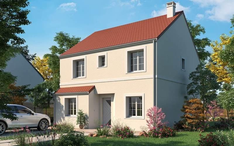 Maison neuve, 117 m² Les  …