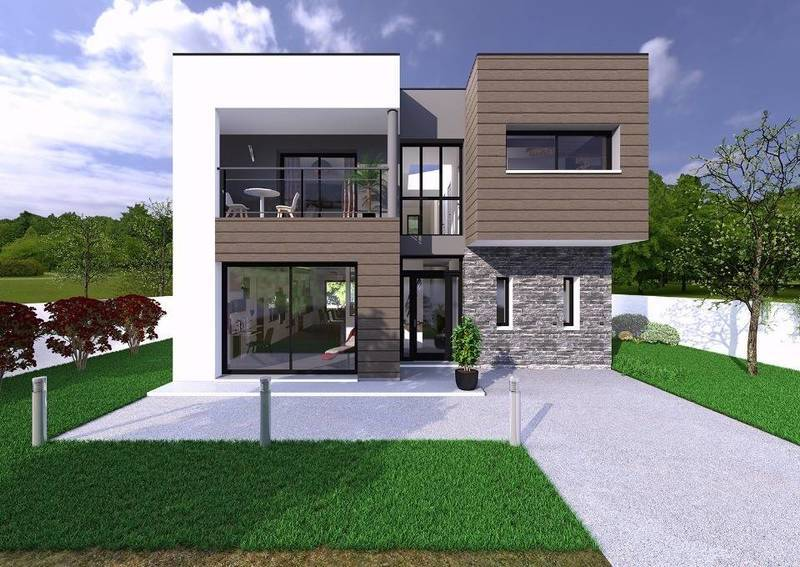 Maison neuve, 143 m² Millé…
