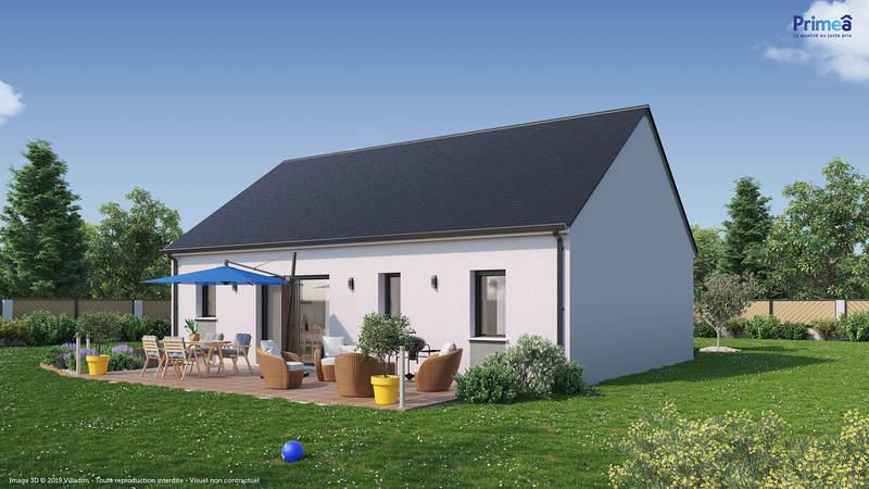 Maison neuve, 82 m² Idéal…