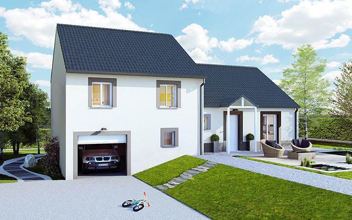 Maison neuve, 89 m² PROCH…