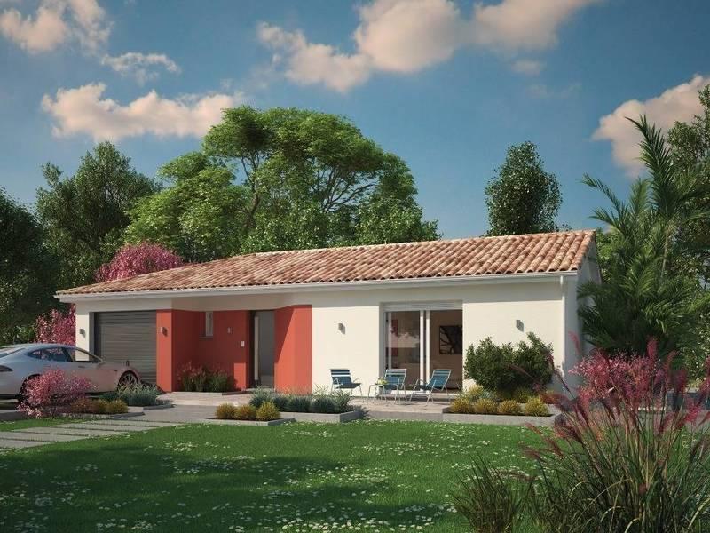 Maison neuve, 100 m² Les M…
