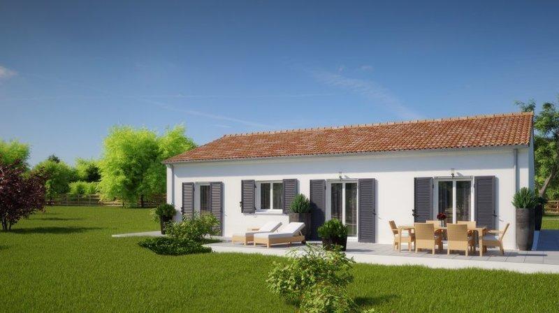Maison neuve, 93 m² beau …