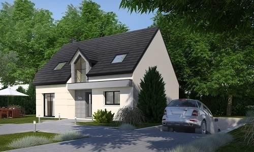 Maison neuve, 123,1 m² HABIT…