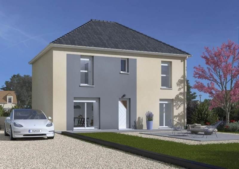 Maison neuve, 124 m² Au Pl…