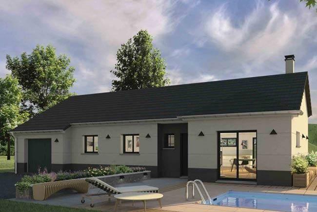 Maison neuve, 106 m² Maiso…