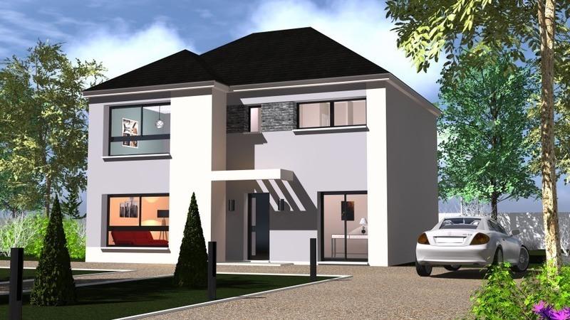 Maison neuve, 197 m² Ce mo…