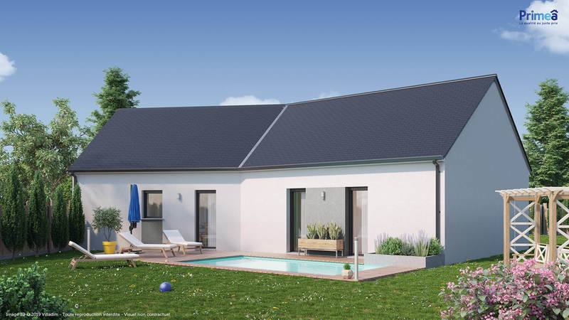 Maison neuve, 98 m² Terra…