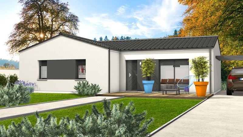Maison neuve, 90 m² Avec …