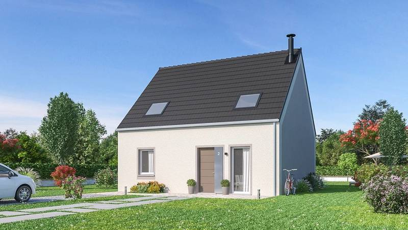 Maison neuve, 115 m² Proje…