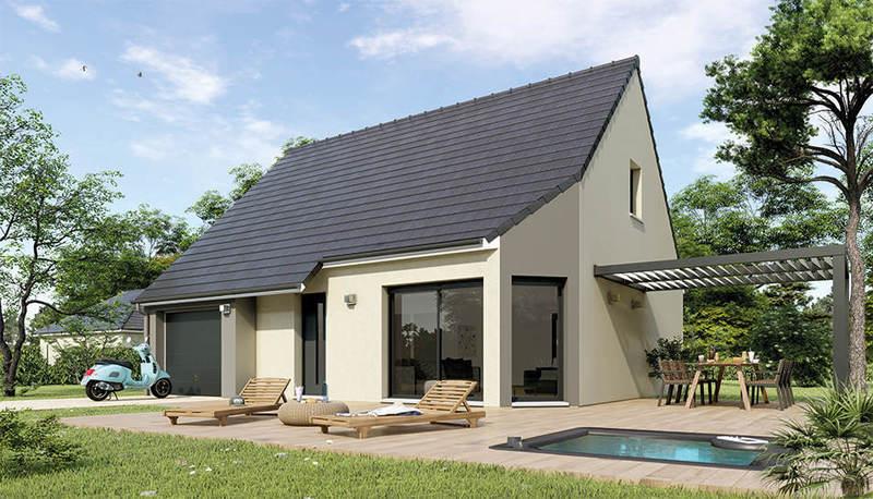 Maison neuve, 100 m² A deu…