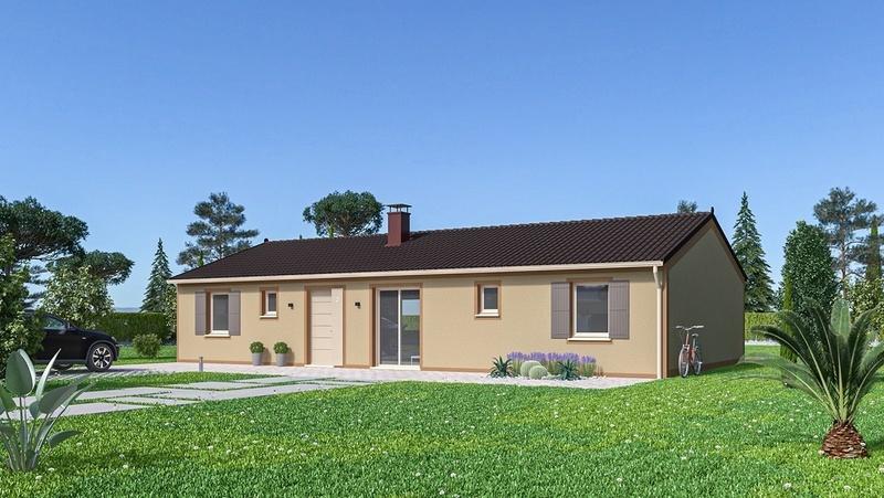 Maison neuve, 128 m² Sur l…