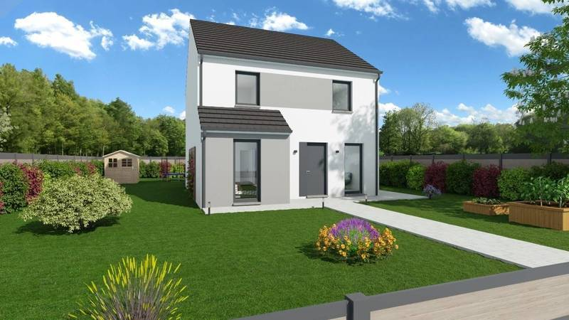 Maison neuve, 118 m² BEAU …