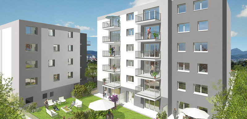 Appartement neuf, 92,8 m² Situé…