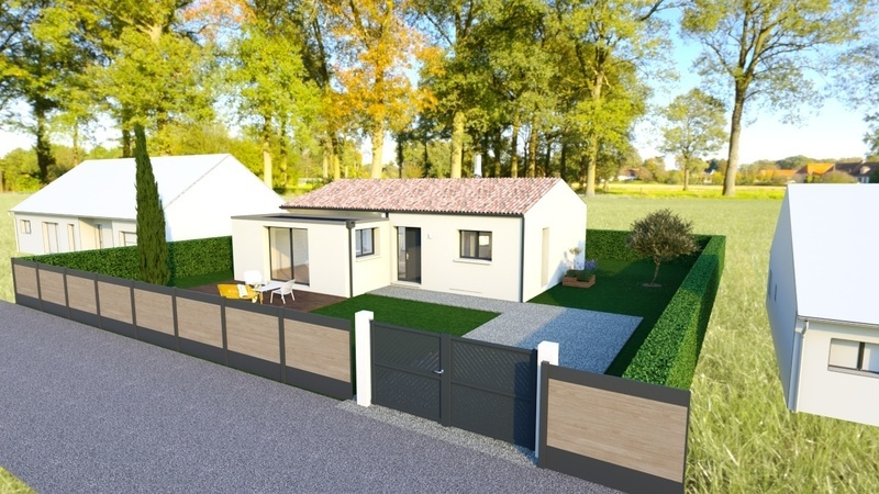 Maison neuve, 92 m² Terra…