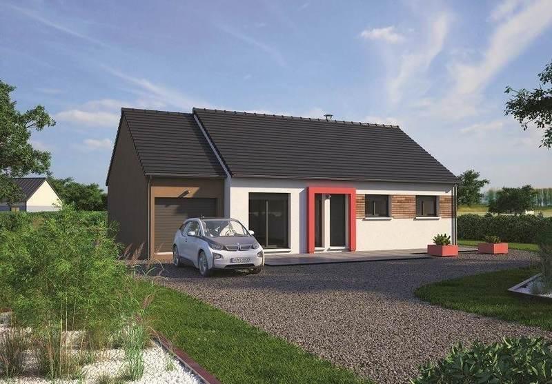 Maison neuve, 80 m² Sur l…