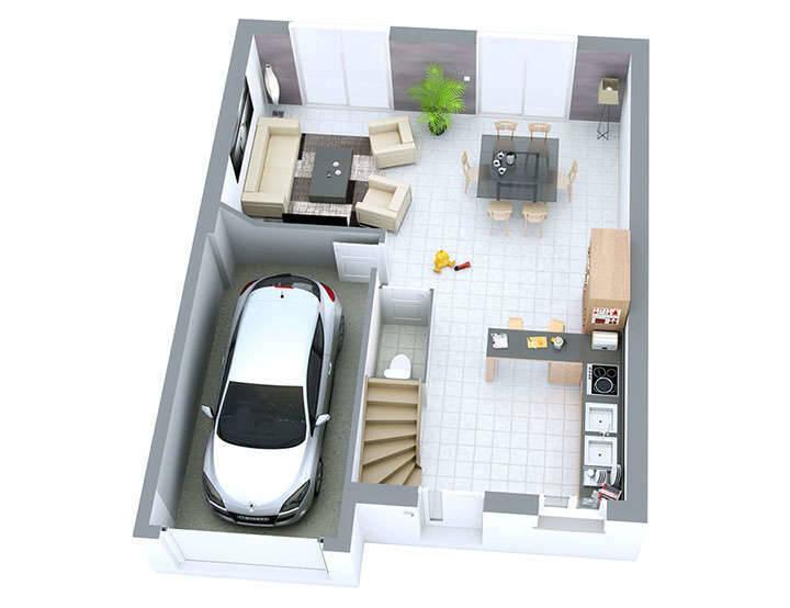 Maison neuve, 78 m² Top D…