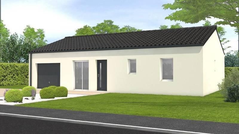 Maison neuve, 79 m² Dans …