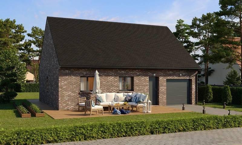 Maison neuve, 71 m² Corbe…