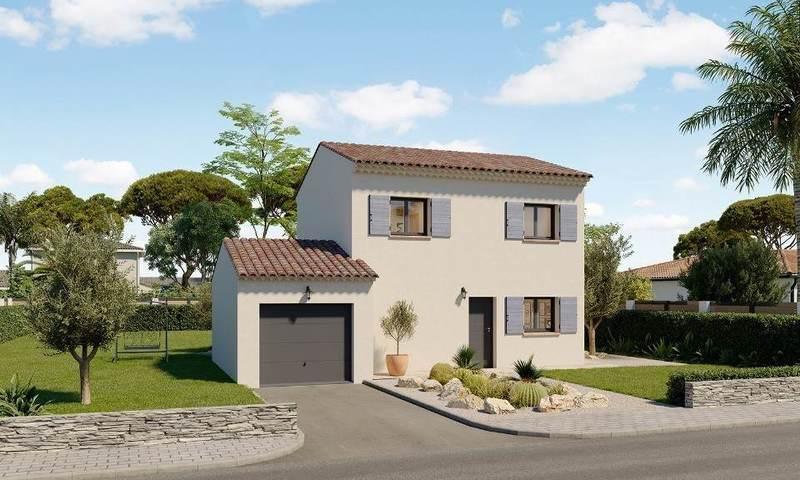 Maison neuve, 78 m² Arles…