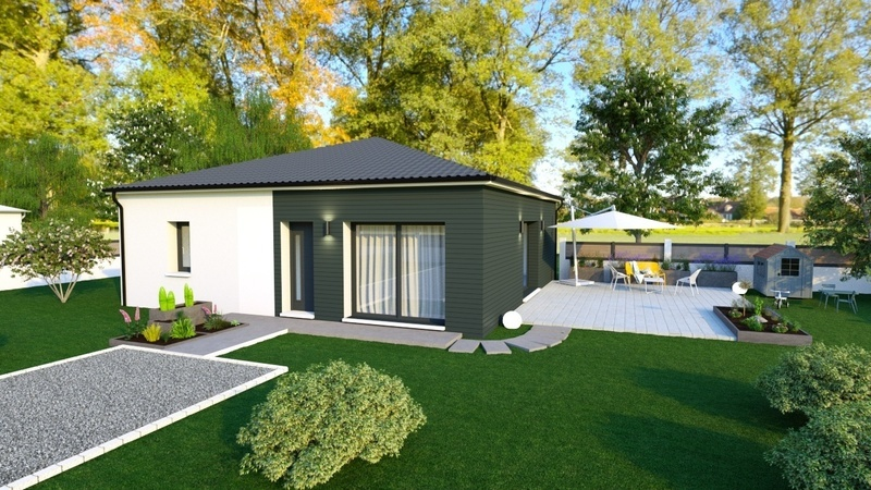 Maison neuve, 90 m² Rouqu…