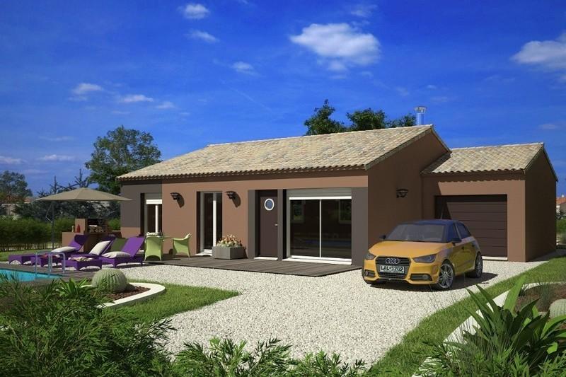 Maison neuve, 73 m² Terra…