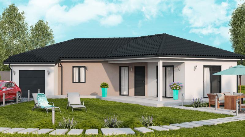 Maison neuve, 110 m² La Ch…