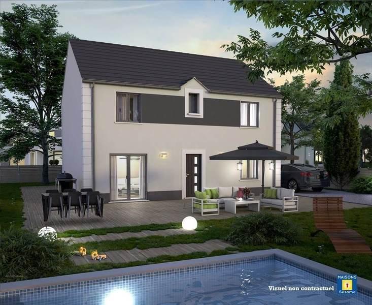 Maison neuve, 140 m² JORDA…