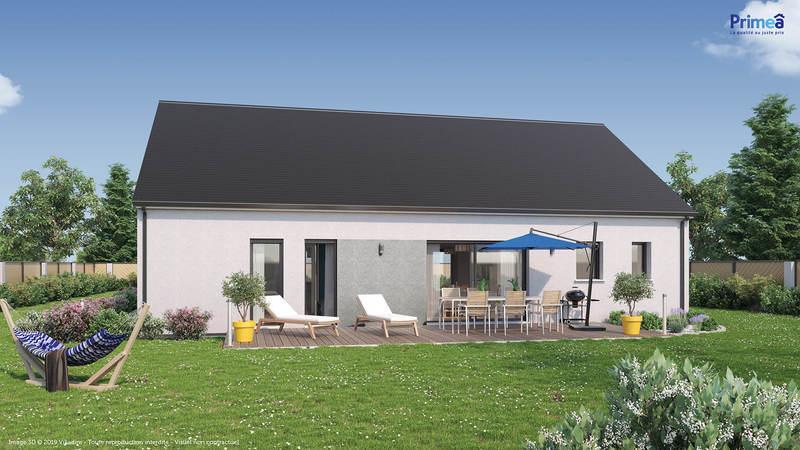 Maison neuve, 104 m² Trés …