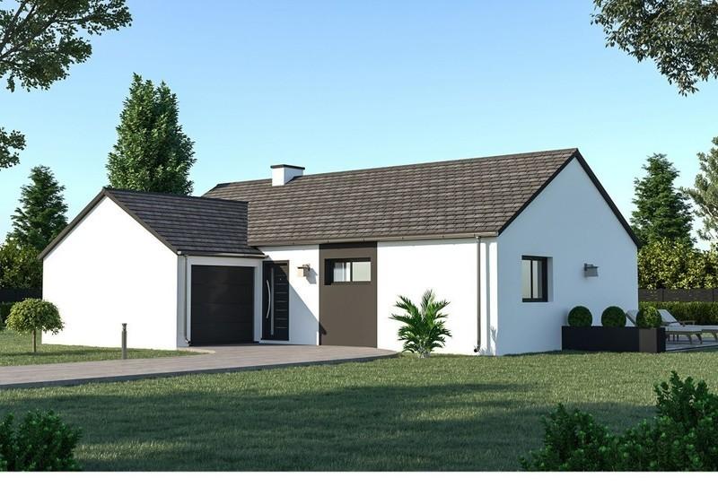 Maison neuve, 86 m² À Tei…