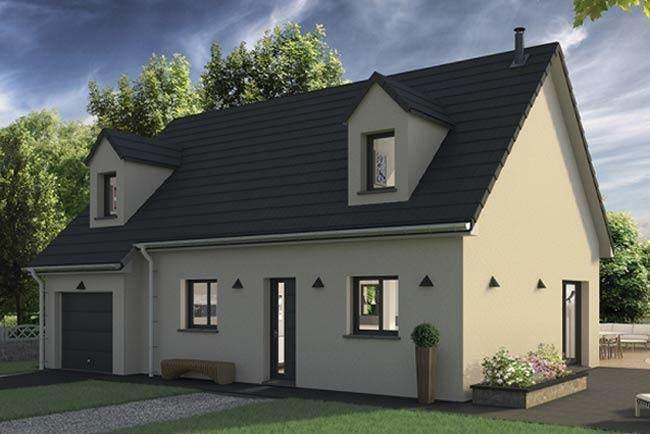 Maison neuve, 112 m² Grand…