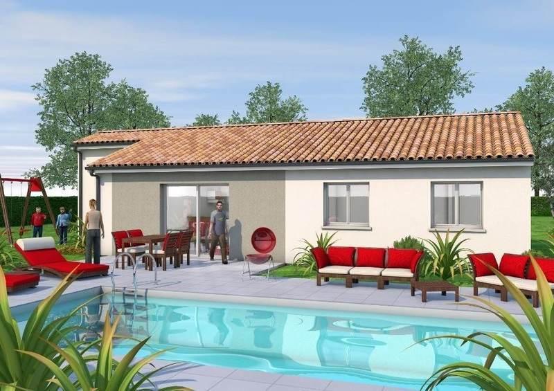 Maison neuve, 85 m² Natur…