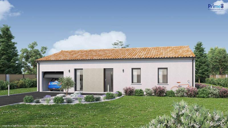 Maison neuve, 104 m² Idéal…