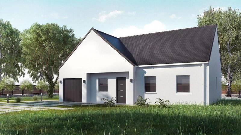 Maison neuve, 68 m² Ce no…