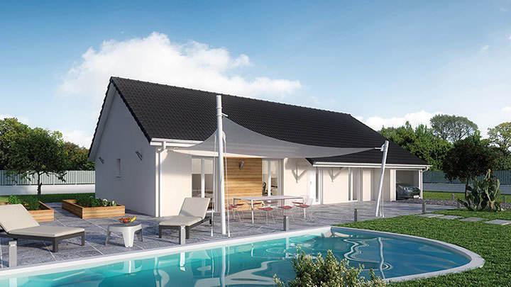 Maison neuve, 95 m² Créa …