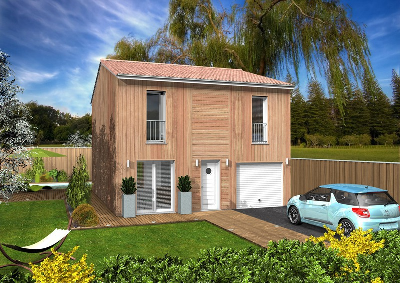 Maison neuve, 117 m² Terra…