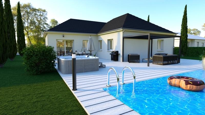Maison neuve, 110 m² A seu…