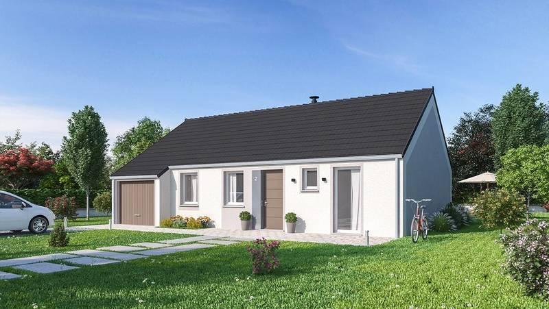 Maison neuve, 88 m² Proje…