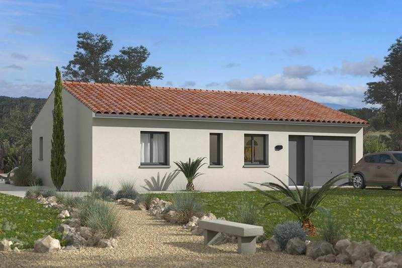 Maison neuve, 75 m² À Arl…